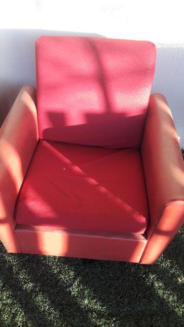 Fotele prl obfite skórą