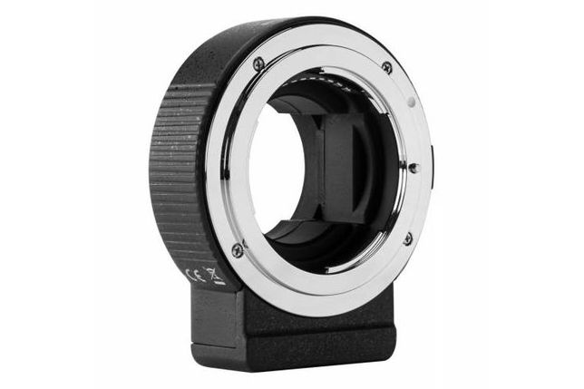 Adapter bagnetowy Commlite PRO - Nikon F Sony E