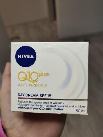 nivea krem do twarzy Q10 PLUS dzień + ujędrnienie,przeciwzmarszczkowy