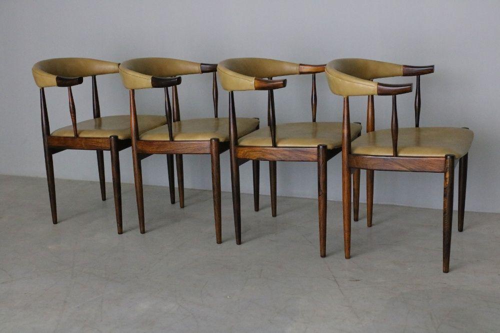 Conjunto de 4 cadeiras Johannes Andersen   Cadeiras de jantar Balazar - imagem 1