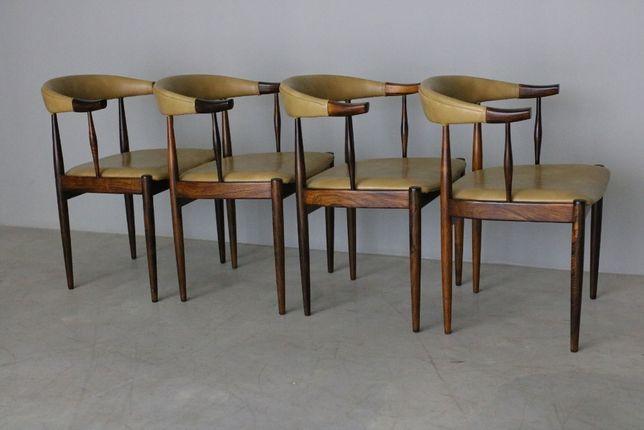 Conjunto de 4 cadeiras Johannes Andersen| Chair design| Retro Vintage