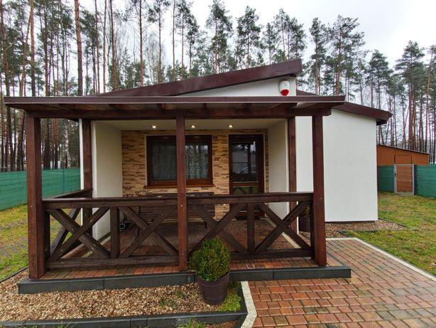 Apartamenty nad jeziorem, dom letniskowy w kujankach Borówno.