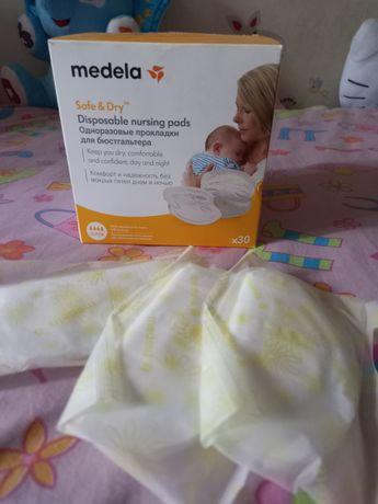 """Прокладки одноразовые на грудь """"Disposable Nursing Pads"""" Medela"""