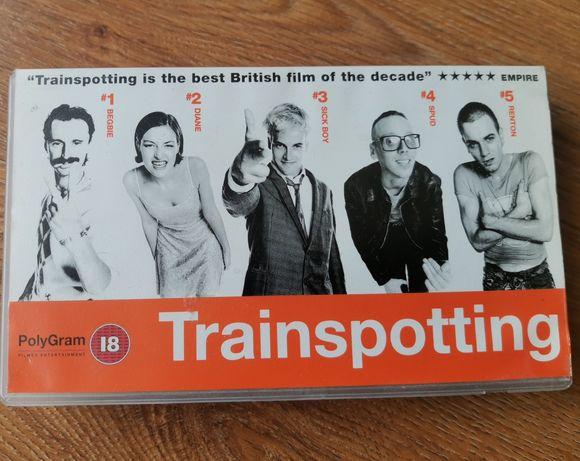 Trainspotting - ENG - UK - kaseta wideo VHS - j. angielski