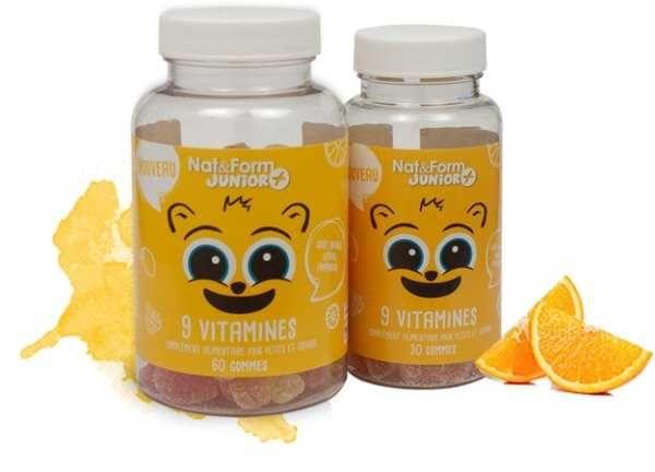 Kid'Ours от Nat & Form детские витамины