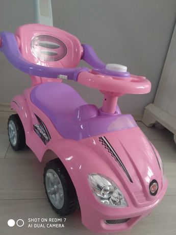 Różowy Samochód dla dziewczynki