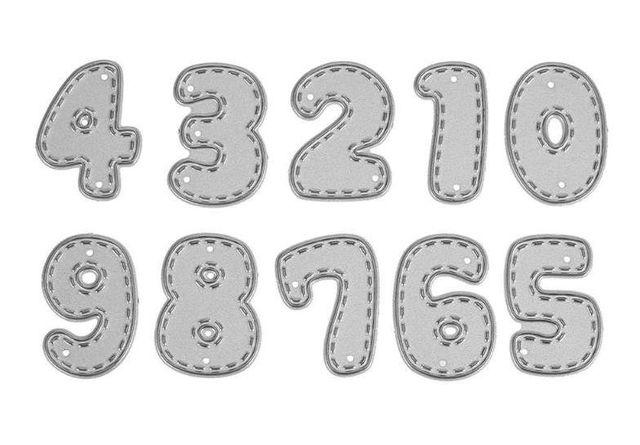 Wykrojnik LICZBY *zestaw cyfr 0-9*
