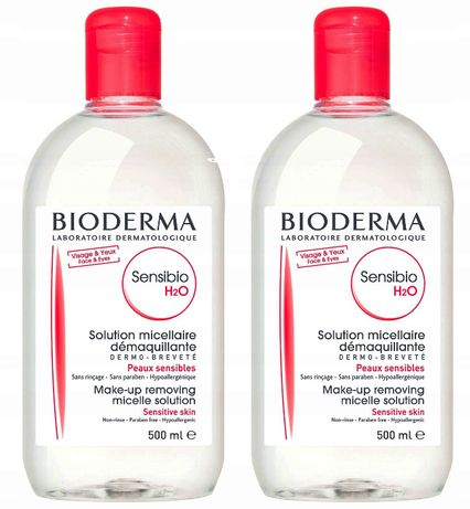 bioderma 500ml+500ml