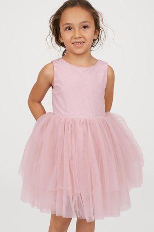 Платье H&M нарядное стильное  для девочки