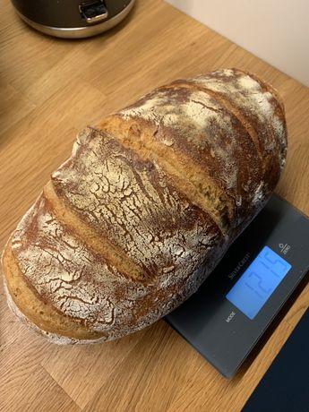 Pyszny chleb pszenny na zakwasie żytnim. Nie obserwuj - spróbuj!