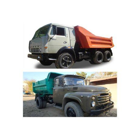 Вывоз мусора,привоз щебня,песка, доставка кирпича нового и б/у
