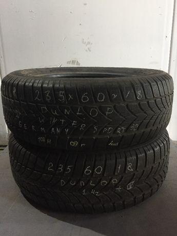 Зимние шины R18 235 60 Dunlop winter sport /225 245 215 / 50 55
