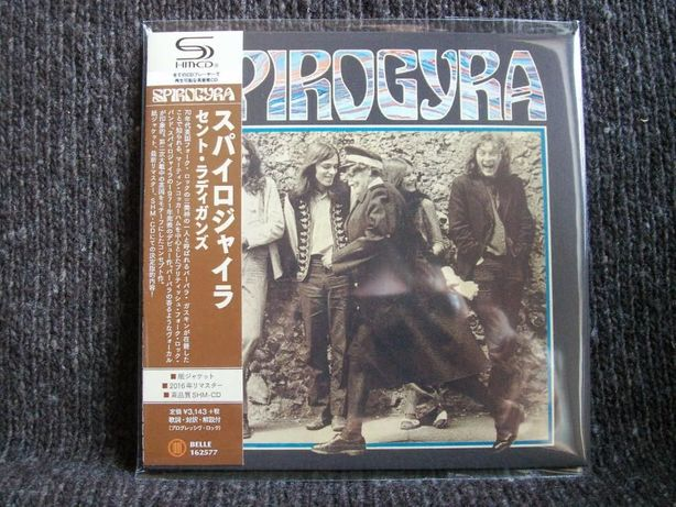 SPIROGYRA St.Radigunds Japan mini LP SHM CD 2016