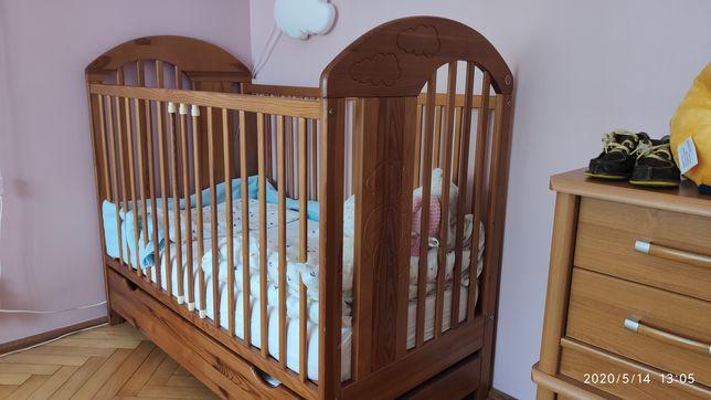 Łóżeczko dla dziecka 120/60 + super materac