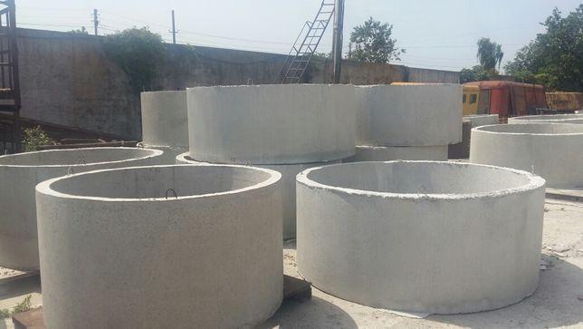 Кільця бетонні каналізаційні