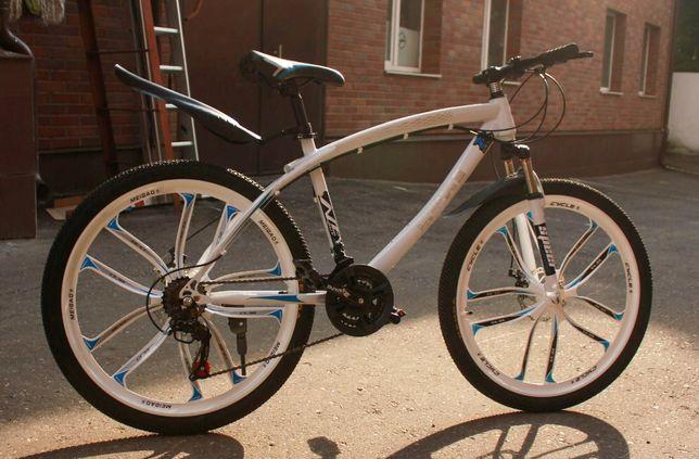 Супер велосипед на литых дисках, 26 диаметр, рама 17, бренд BMW