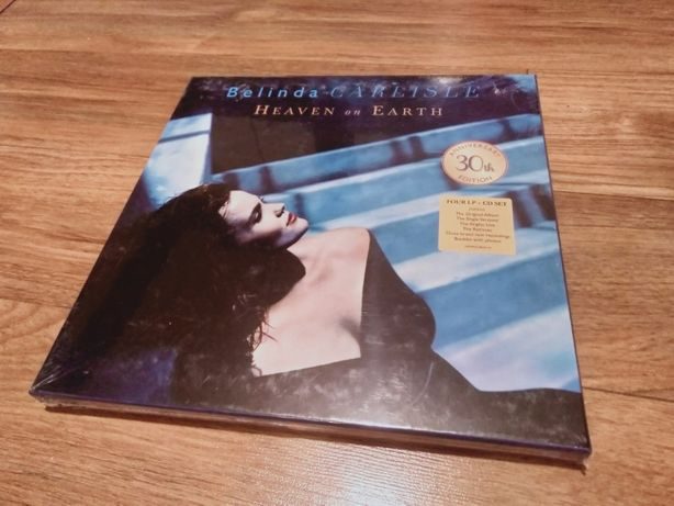Belinda Carlisle Heaven On Earth BOX 4 LP + CD 30th Anniversary