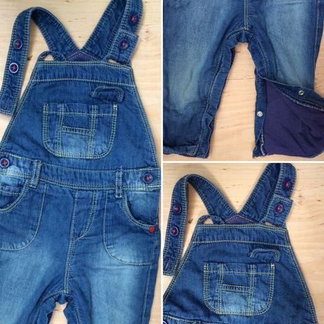 Джинсовий комбінезон з підкладкою,детский джинсовый комбинезон