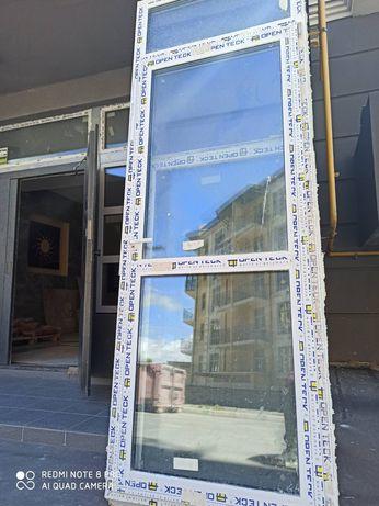 Двери балконные металлопластиковые  АКЦИОННАЯ ЦЕНА! 68х212см.