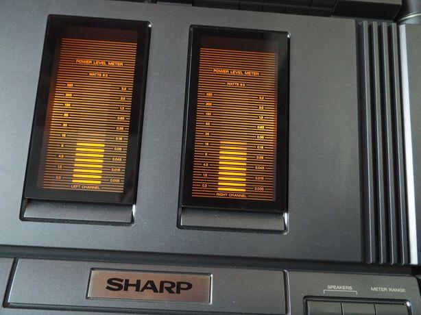 Wieża SHARP seria 8800 Końcówka mocy Przedwzmacniacz
