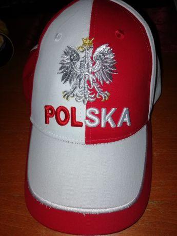 Nowa czapka z daszkiem Polska