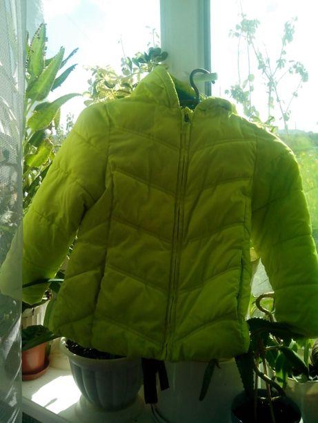 куртка демисезонная на 3-5 лет