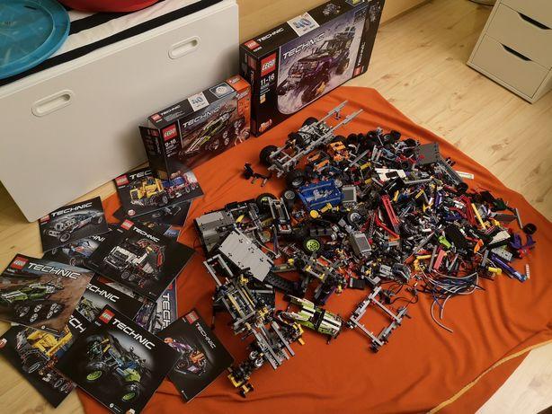 Lego technic 8kg wiele zestawów mix