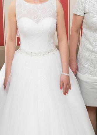 Suknia ślubna księżniczka RELEVANCE rozmiar: 36-38