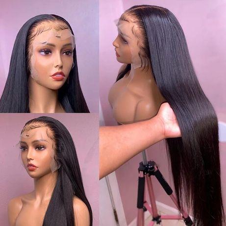 Peruca de cabelo humano