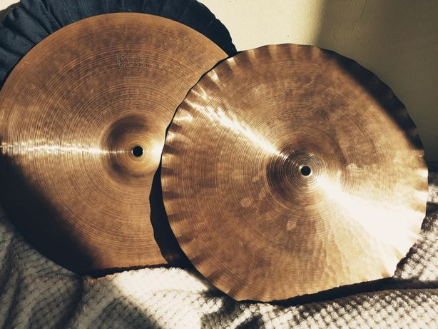 "Paiste 2002 15"" Sound Edge hi hat 1977r"