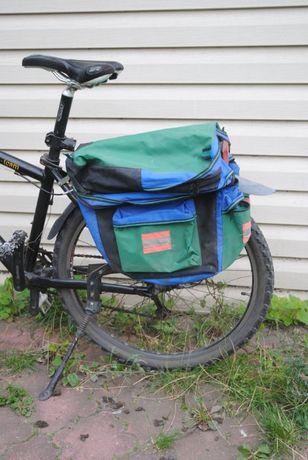 Sakwa rowerowa 3 komorowa - Bike