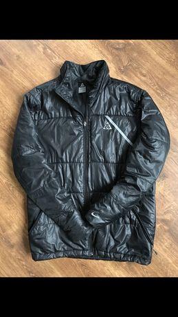 Пуховик nike acg/ L-XL курточка оригинал adidas зима