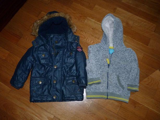 2 casacos menino 12/18 meses