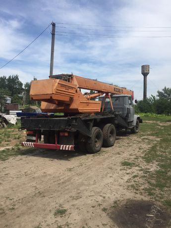 Продам автокран КРАЗ-3575