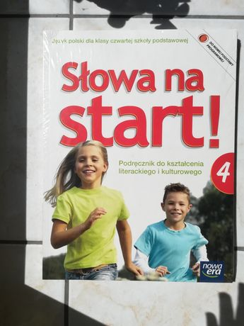NOWE Słowa na start, podręcznik klasa 4 Nowa Era