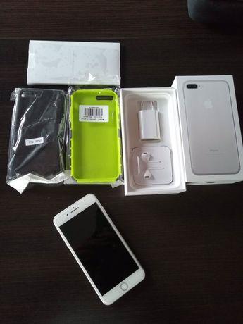 iPhone 7 plus 128GB silver gratis futeraly