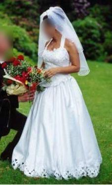 Suknia ślubna na niską osobę 150-160cm