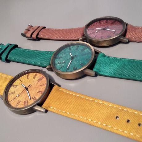Zegarki na rękę - styl eko