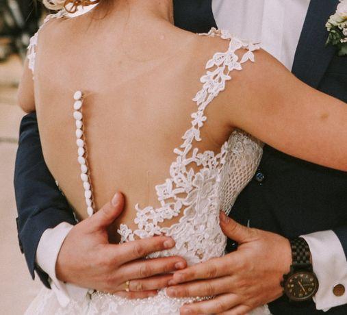 Suknia ślubna Ida Torez - styl rustykalny/boho