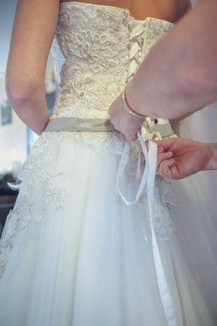 Sukienka ślubna rozm. 36-38 (z salonu Adela Bydgoszcz)