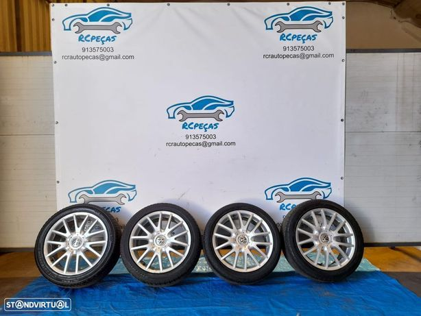 "VW VOLKSWAGEN GOLF V / 5 GT Jetta | JANTES DE 17"" 5x112 com pneus"