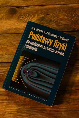 """Książka """"Podstawy fizyki"""" M.A. Herman, A.Kalestyński, L.Widomski"""