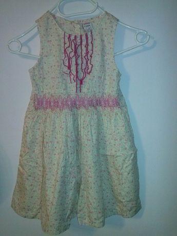 Letnia sukienka na wzrost 122