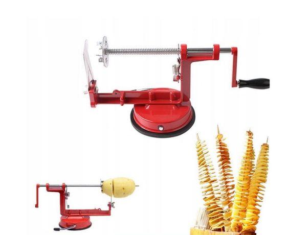 Nowa Maszynka Do Chipsów Ziemniaków Zakręcona Frytka