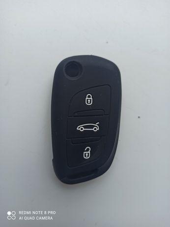 Citroen Peugeot  Чехол силіконовий на ключ
