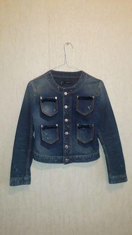 Джинсовый пиджак куртка Dsquared2 оригинал