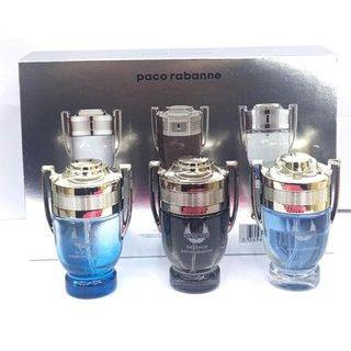 Подарочный набор Мужских парфюмов Paco Rabanne Invictus Gift Mini Set