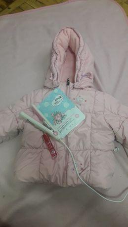 Зимова курточка розмір 80