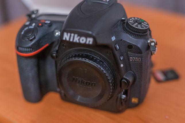 Nikon d750 Stan bardzo dobry