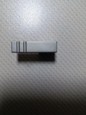 ручка мебельная из матового хрома